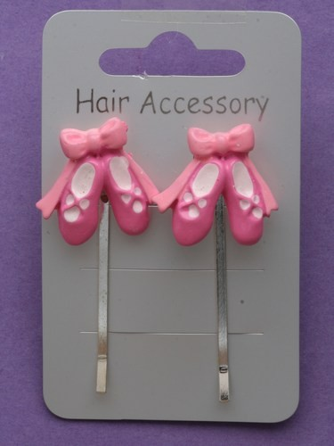 Ballet Shoe Hair Hair Clips