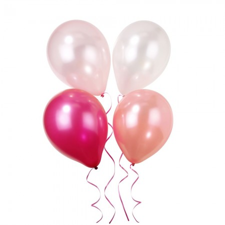 Pink N Mix Party Balloons