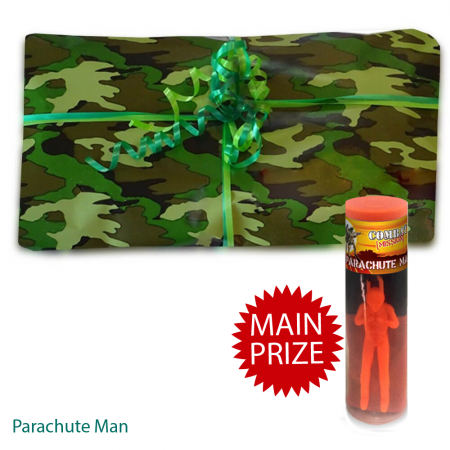 Army Camouflage Pass the Parcel - Parcel And Main Prize