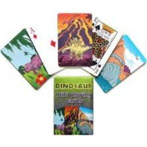 Dinosaur Mini Playing Cards Party Bag Filler