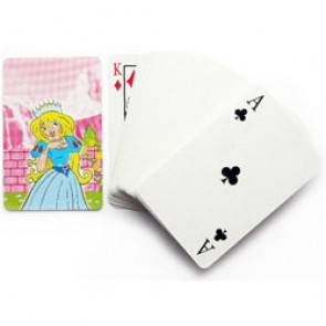 Mini Princess playing cards Party Bag Filler