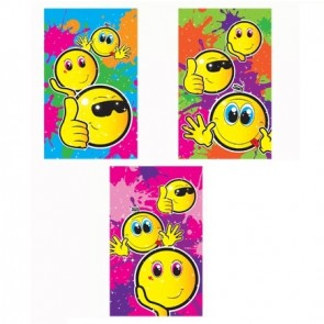 Smiley Face Note Pad Party Bag Filler