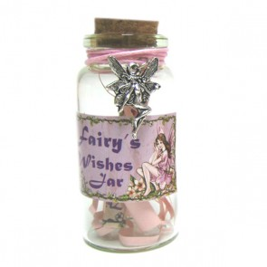Fairy Wishes in a Jar with Fairy Trinket