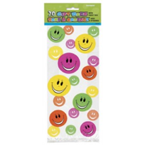 Smiley Face Party Bags