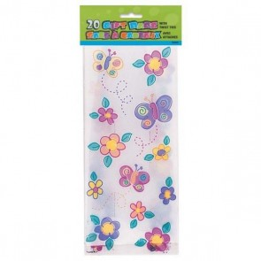 Butterfly Pattern Party Bags