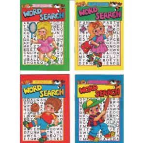 Junior Word Search book Party Bag Filler