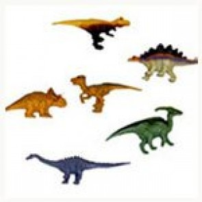 Pack Of 12 Mini Dinosaurs