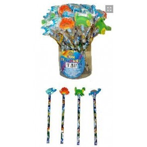Dinosaur Pencil with Large Eraser Party Bag Filler