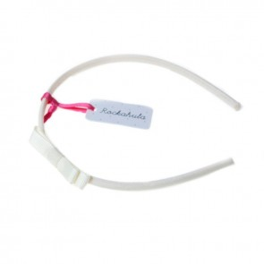 Ivory Mini Ribbon Bow Alice Band - Rockahula