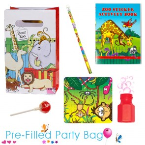 Unisex Dear Zoo Ready Made Pre Filled Party Bag