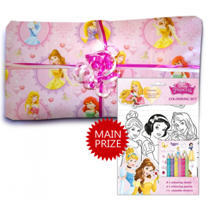 Disney Princess Pass The Parcel - Parcel And Main Prize