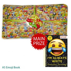 Emoji Pass The Parcel And Main Prize