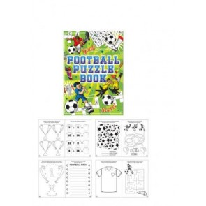 Football Fun Puzzle Book