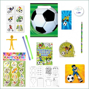 Football Party Bag - Just Fill Ready to Make