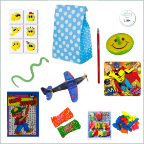 Boys Party Bag Option 2 - Just Fill Ready to Make