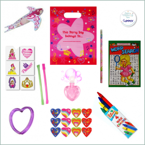 Girls Party Bag Option 1 - Just Fill Ready to Make