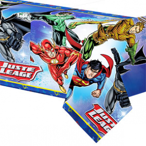 Justice League Party Tablecover