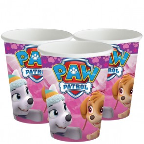 Girls Pink Paw Patrol Party Cups