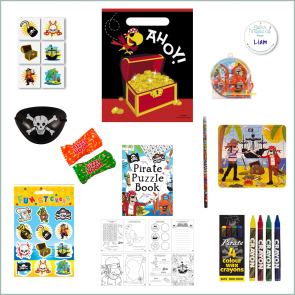 Pirate Party Bag - Just Fill Ready to Make