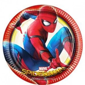 Spiderman Homecoming Party Plate