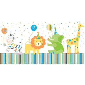 Sweet at 1 Boy Party Tablecover