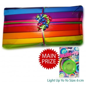 Unisex Best Value Pass The Parcel With Main Prize - 10 Layers