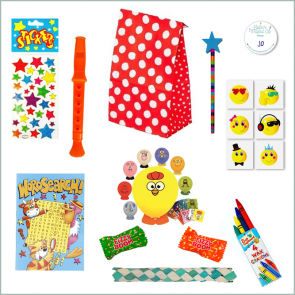 Unisex Fun Party Bag Option 1 - Just Fill Ready to Make