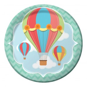 Up Up and Away Party Plate
