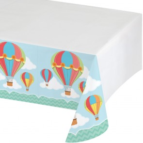 Up Up and Away Party Tablecover