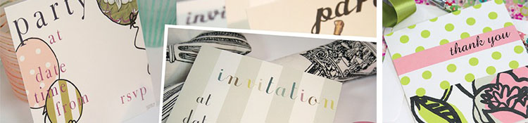 Invitations & Thank You Cards