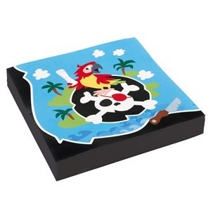 Captain Pirate Party Napkins