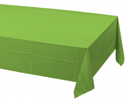 Fresh Lime Party Table Cover