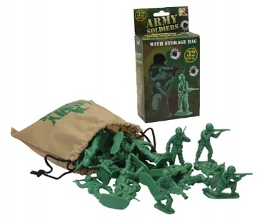 Bag of Army Soldiers