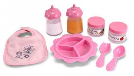Time To Eat - 8 Piece Feeding Set