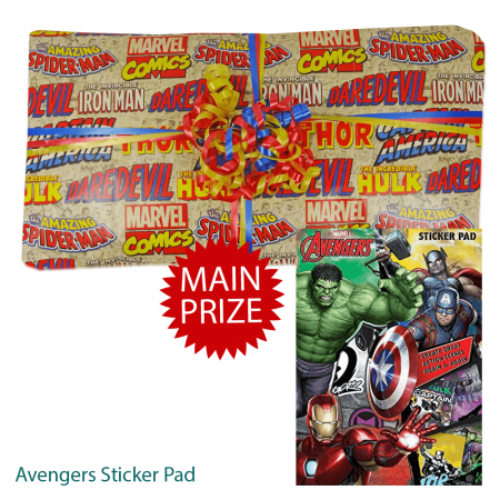 Avengers Pass The Parcel With Main Prize
