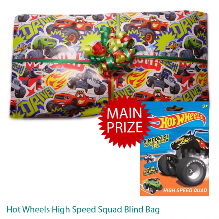 Blaze And The Monster Machines Pass The Parcel And Main Prize