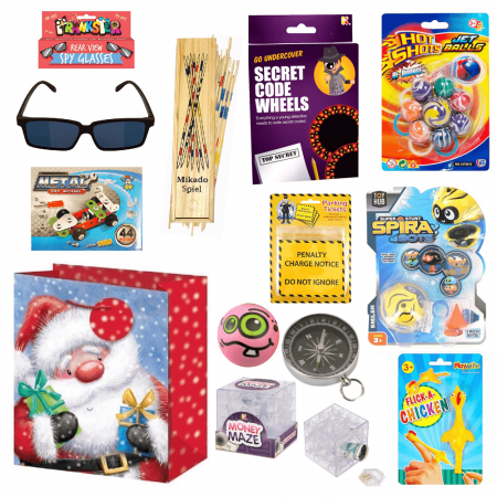 Boys Christmas Stocking Fillers Gift Set 2 (11 items included)