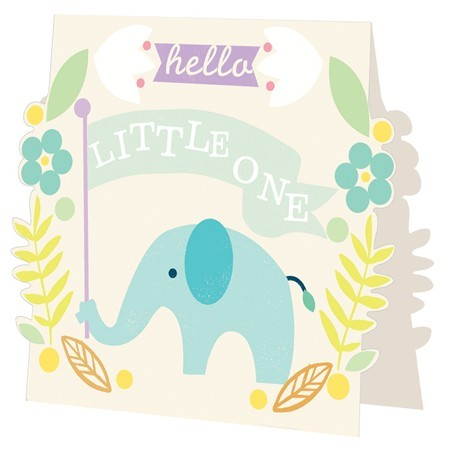 Caroline Gardner Hello Little One - Boy - Card