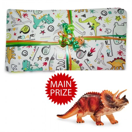 Digby Dinosaur Pass The Parcel - Parcel And Main Prize