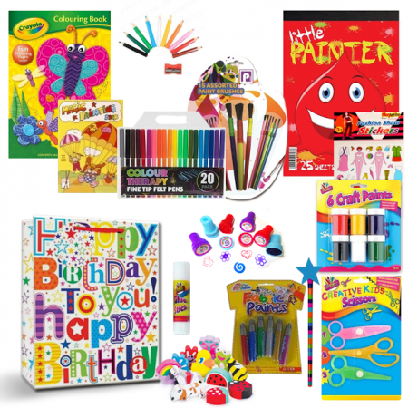 Girls Gift Bundle - Set 2- Arts and Crafts