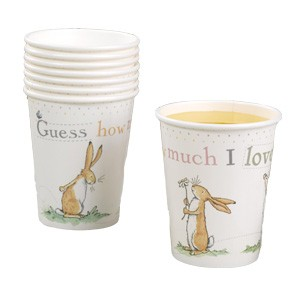 Guess How Much I Love You Party Cups