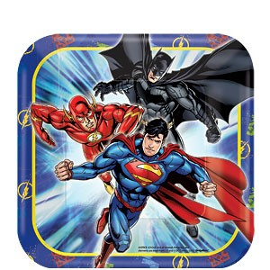 Justice League Party Plate