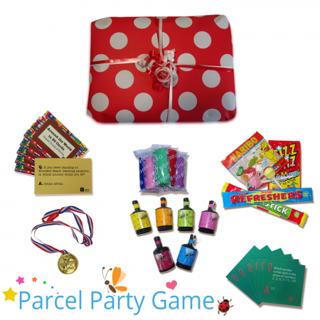 Lugano Dinner Party Parcel Game