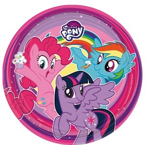 My Little Pony Party Plate