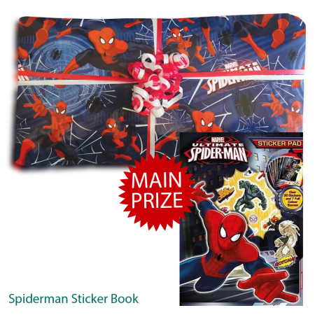 Spiderman Pass The Parcel And Main Prize