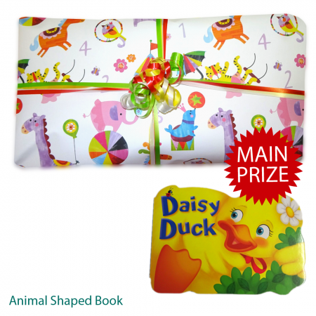 Toddlers Option 1 Pass The Parcel And Main Prize