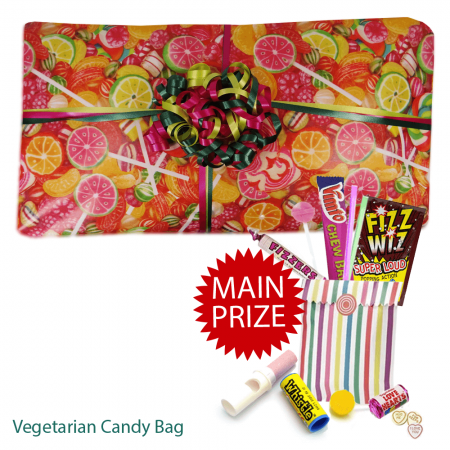 Vegetarian Sweet Packed Pass The Parcel With Main Prize