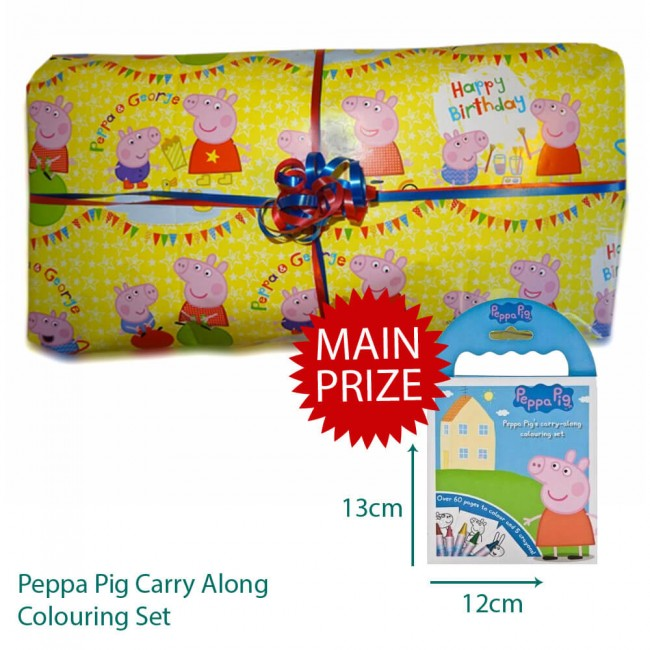 Peppa Pig Pass The Parcel Party Game