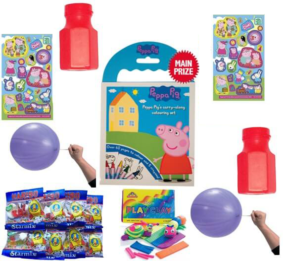 Toss Games Home Kitchen Peppa Pig Party Tableware And Pass The