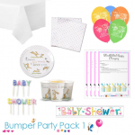 Guess How Much I Love You Baby Shower Party Tableware Bumper Pack 1